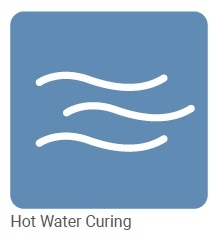 brawoliner curing with water