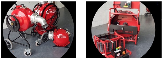 pIcote cipp equipment