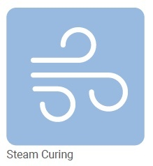 brawoliner curing with steam